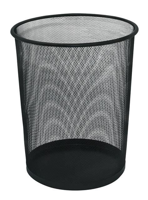 17078 Set Bottom waste bin q connect metal 19l black pbs connect