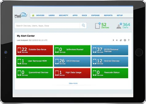 ibm mobile device management ibm maas360 samsung security and device management