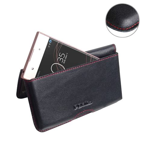 Sony Pouch Xperia M 1 sony xperia xa1 leather wallet pouch stitch pdair sleeve
