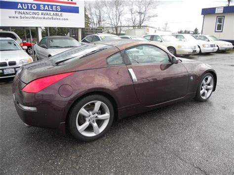 nissan 350z burgundy new at seattle tacoma