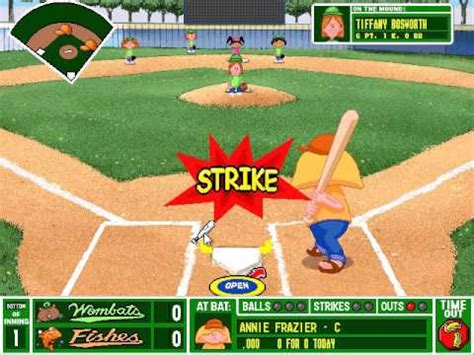 backyard baseball pc download backyard baseball pc gameplay all city playoff game