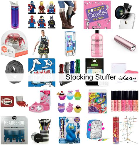 stocking stuffers ideas stocking stuffer ideas for all ages the idea room