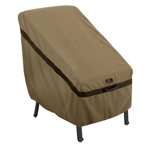 High Chair Table Cover by Classic Accessories Veranda Bistro Patio Table And Chair Cover 55 233 011501 00 The Home Depot
