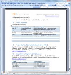 software scope document template project scope template sadamatsu hp