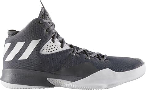 lyst adidas dual threat 2017 basketball shoes in gray for