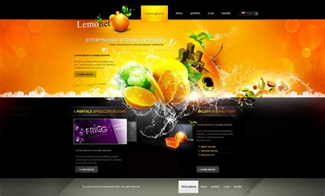 Home Design Inspiration Websites by Lemonet Homepage By Webdesigner1921 On Deviantart