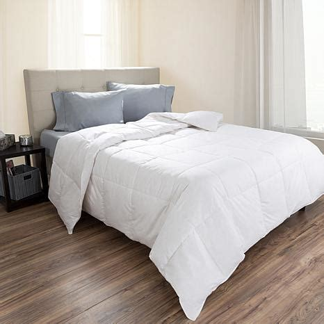 feather down comforter king lavish home 100 cotton feather down bedding comforter