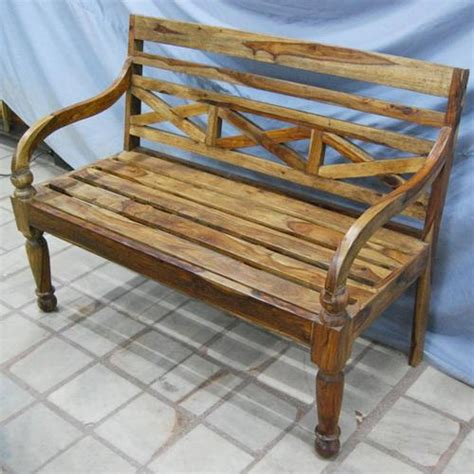 outdoor loveseat bench solid wood carved antique style outdoor sofa bench