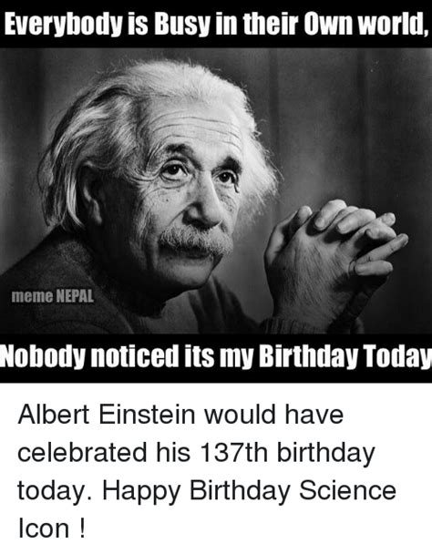 Science Birthday Meme - 25 best memes about happy birthday science happy