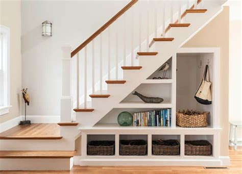 Underneath Stairs Design 25 Best Ideas About Stair Storage On Pinterest Stair Storage Staircase Storage And
