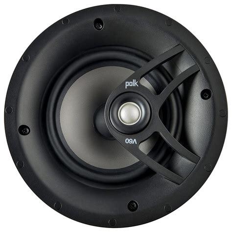 Polk Audio Ceiling Speakers Review by Polk Audio 6 5 Quot In Ceiling Speakers Each Black V60