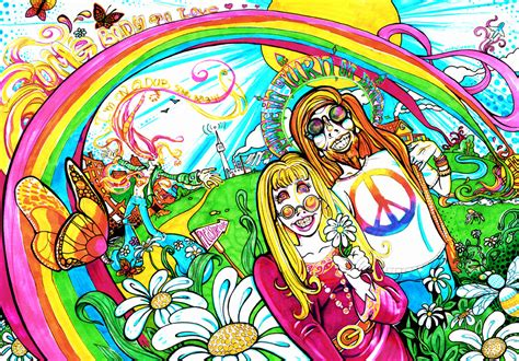 In Trippy Drawings by Traditional Psychedelic Drawings By Limbic Splitter