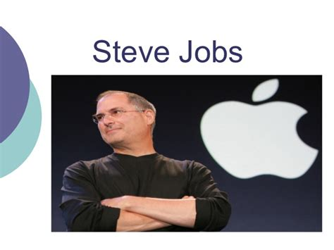 biography of steve jobs powerpoint steve jobs power point
