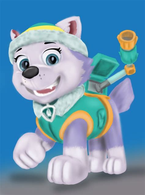 paw patrol everest learn how to draw everest from paw patrol paw patrol