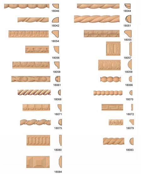 aste in legno per cornici asta di legno scolpite da 5 80 al pz