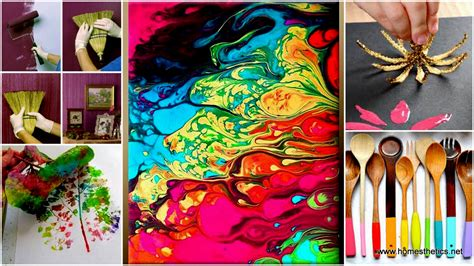 Painting Handmade - get your with diy painting crafts and ideas