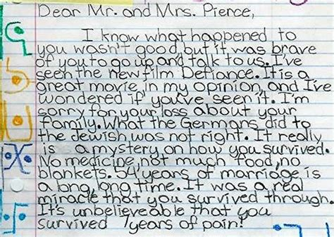 thank you letter to 4th grade thank you letters the survival station