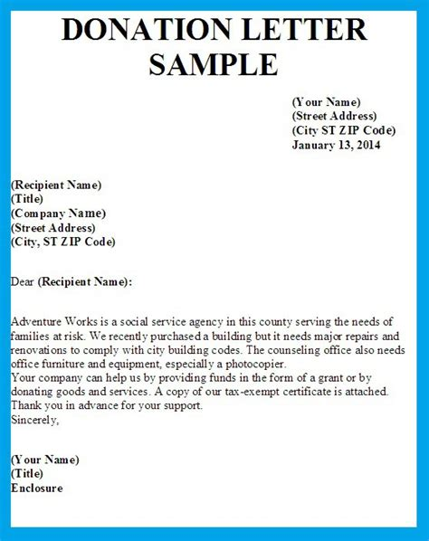Donation Letter No Goods Or Services letter asking for donations writing professional letters