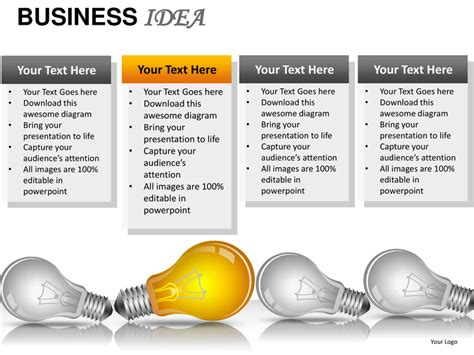 business idea powerpoint presentation templates