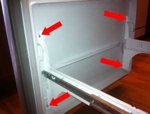 How To Take Off Interior Door Panel Fix Whirlpool Maytag Fridge Ice Buildup Netscraps