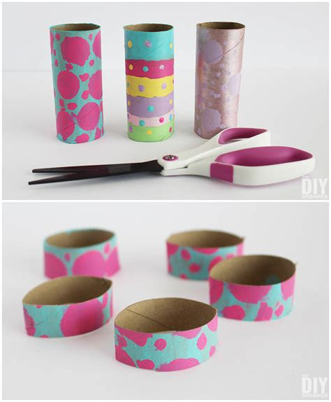 Toilet Paper Roll Easter Crafts - toilet paper roll easter bunny craft