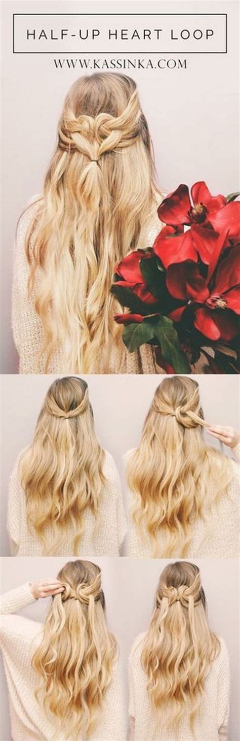 diy hairstyles we heart it 17 beste idee 235 n over haar op pinterest haarschoonheid
