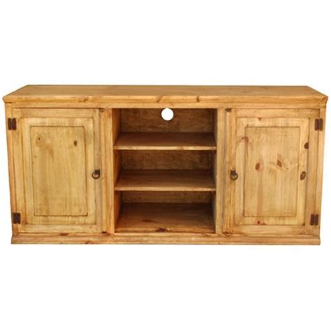 Pine Stand Rustic Pine Collection Roma Plaintv Stand Com316