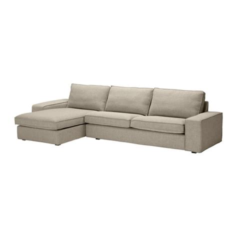 sofa kivik kivik three seat sofa and chaise longue ikea