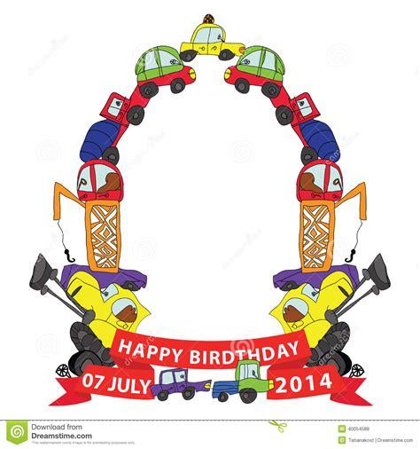 doodlebug happy cer child s draw cars doodle frame composition