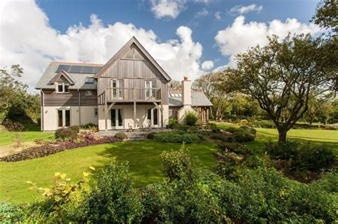 themes in the house behind the cedars 5 bedroom oak frame home in cornwall carpenter oak