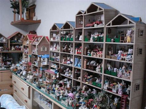 collector house amazing jp unit houses set up sylvanian families