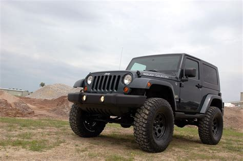 Jeep Wrangler With Lift Kit 6in X Series Suspension Lift Kit For 07 16 Jeep Jk