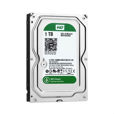 Harddisk Wd 500gb Green wd green 1tb desktop drive 3 5 inch sata 6 gb s intellipower drive