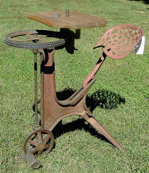 scroll   foot powered machinery