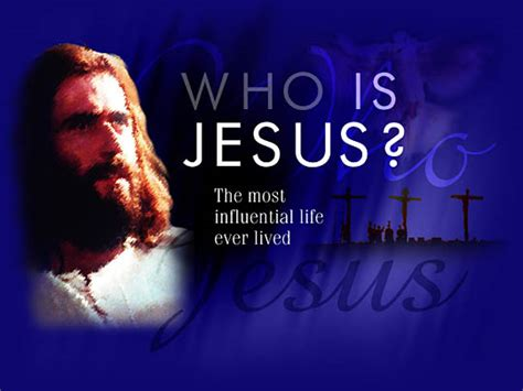 Who Is The Who Is Jesus