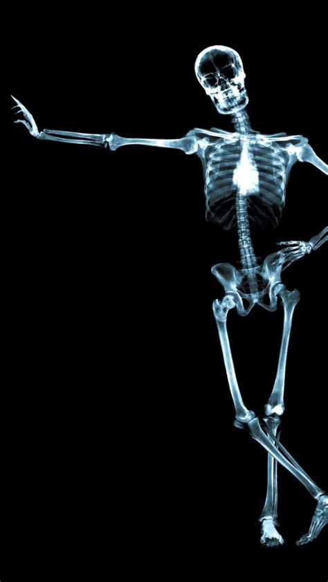 x skeleton iphone 5 wallpaper スマホ壁紙 iphone待受画像ギャラリー