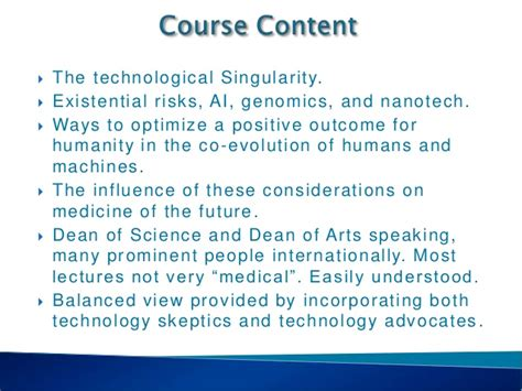 8 Treatments Of The Future by Solez Introduction To Tech Future Of Medicine Course 8