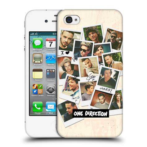 Cool 1d One Directionhard Iphone Casesm official one direction 1d fan designs back for apple iphone 4 ebay