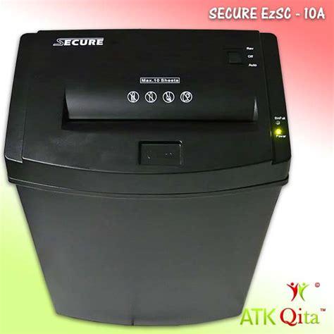 Penghancur Kertas Secure mesin penghancur kertas paper shredder secure ezsc 10a
