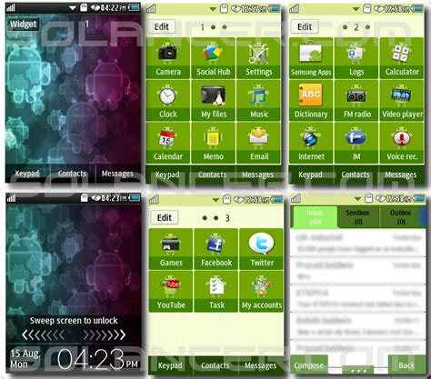 Themes For Android Version 2 3 6 | android theme for corby 2 by solancer com on deviantart