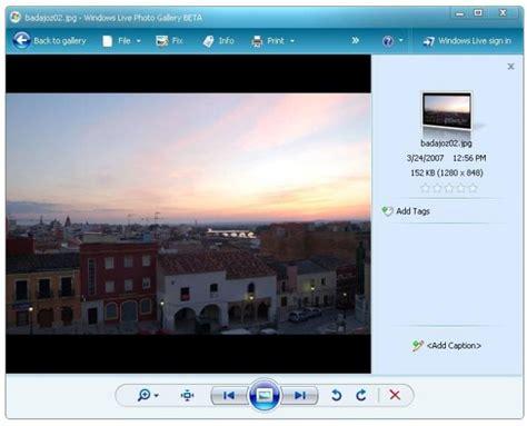 descargar visualizador de imagenes jpg gratis galer 237 a fotogr 225 fica de windows live 2012 windows descargar
