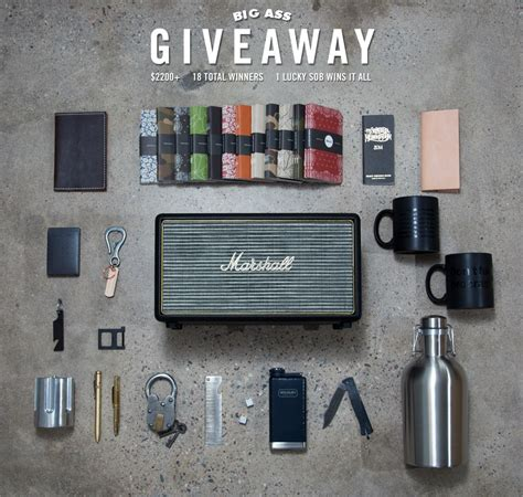 Cool Giveaway Prizes - cool material s big ass giveaway cool material