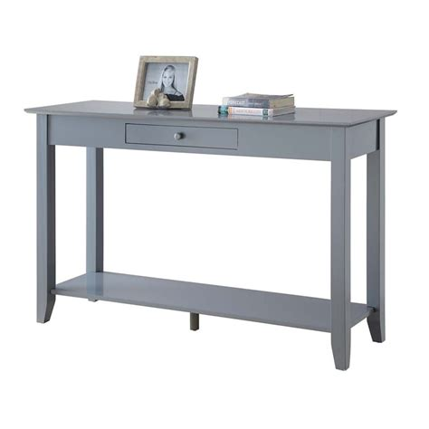 Gray Console Table Console Table In Gray 7104099gy
