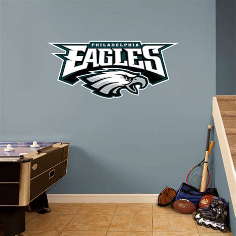 philadelphia eagles alternate logo wall decal shop