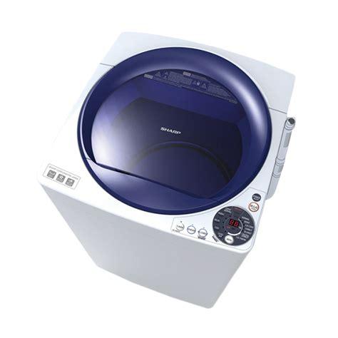 Mesin Cuci Sharp Kapasitas 9 Kg jual sharp es m905p wb blue mesin cuci 9 kg top loading