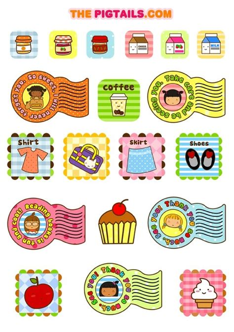 printable stickers cute pin by marisa on decorations free printable pinterest