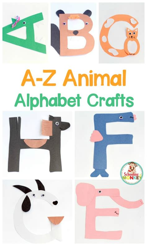 printable alphabet letters crafts fun and easy alphabet crafts for kids life over cs