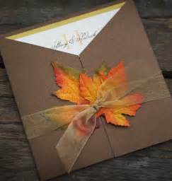 sle fall wedding invitation autumn fall leaves