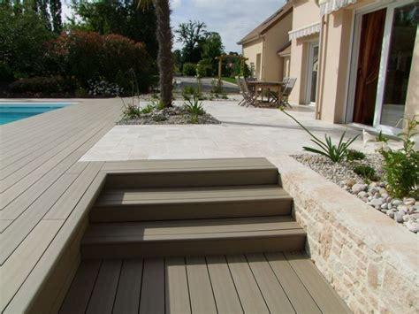 terrasse 80m2 terrasse imitation bois pour votre maison