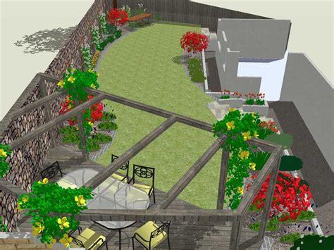 wide shallow garden design ideas google search outdoor furniture pinterest shallow